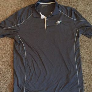 Eagles branded Nike dri fit polo